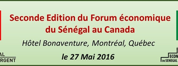 Forum economique senegal canada